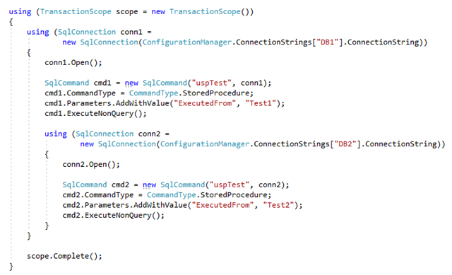 C# - TransactionScope(トランザクションスコープ)の使い方